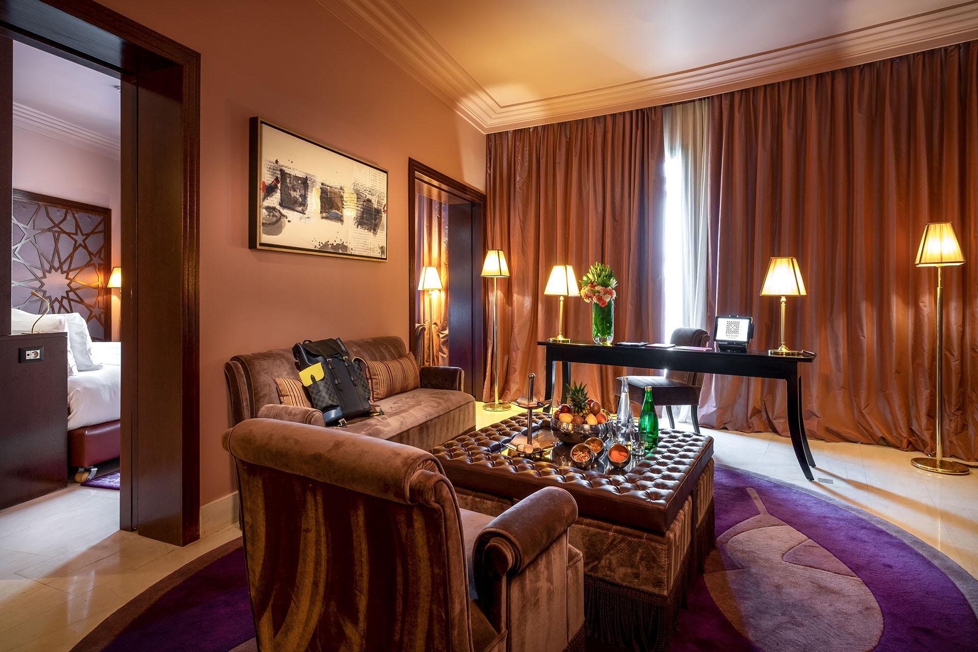 chambre hôtel the Pearl Marrakech
