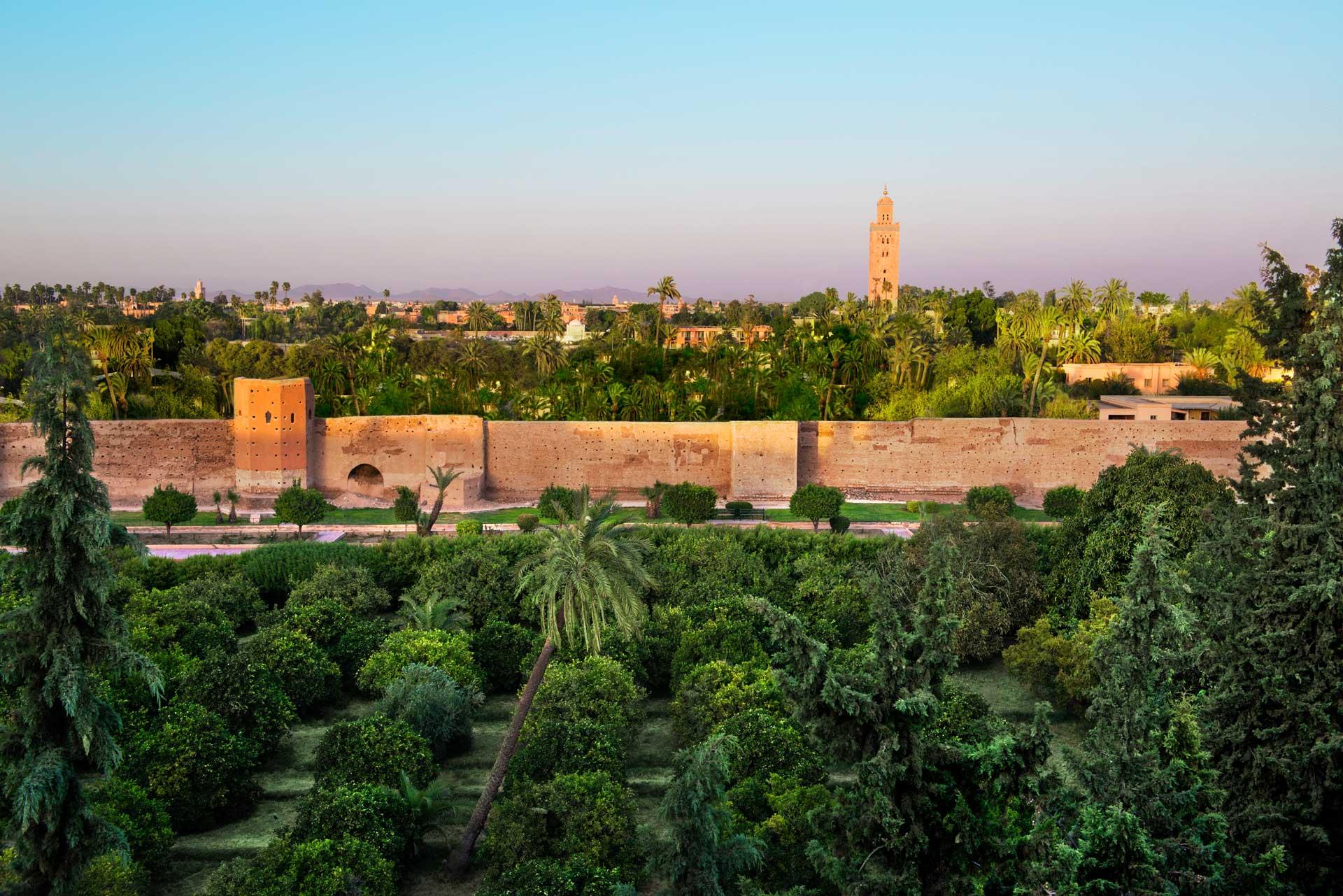 hôtel the Pearl Marrakech koutoubia sky